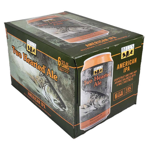 Bell's Two Hearted Ale American IPA 6-Pack 12OZ Can