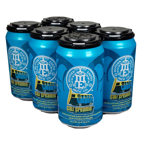 Mother Earth Cali Creamin' Vanilla Cream Ale 6-Pack Can