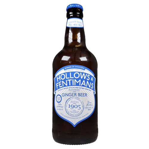 Hollows and Fentimans All Natural Alcoholic Ginger Beer