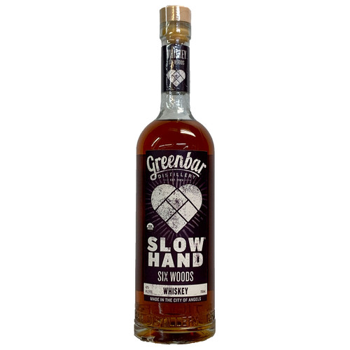 Greenbar Slow Hand Six Woods Whiskey