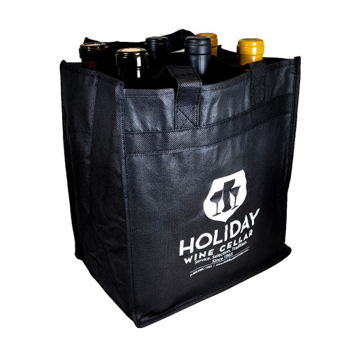 Holiday Wine Cellar 6 Bottle Wine Tote