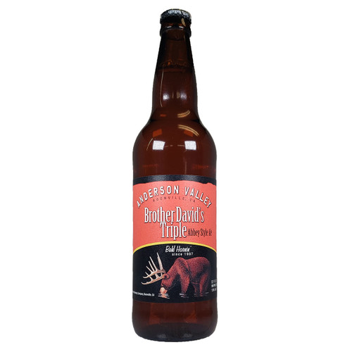 Anderson Valley Brother David's Triple Abbey Style Ale
