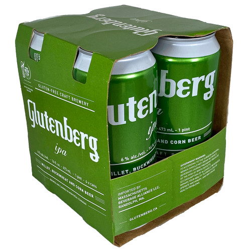Glutenberg Gluten Free IPA 4-Pack Can