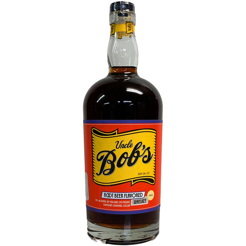 Uncle Bob's Root Beer Flavored Whiskey