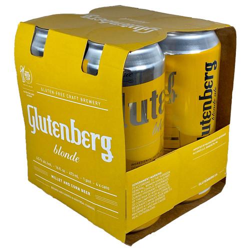 Glutenberg Gluten Free Blonde Ale 4-Pack Can