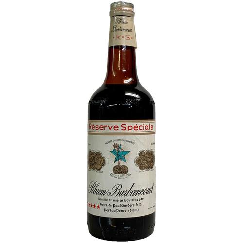 Rhum Barbancourt 5 Star Reserve Speciale Rum - 1960's Vintage
