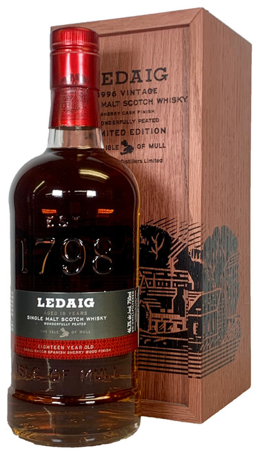 Ledaig 18 Year Single Malt Scotch Whisky