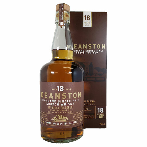 Deanston 18 Year Bourbon Cask Single Malt Scotch Whisky