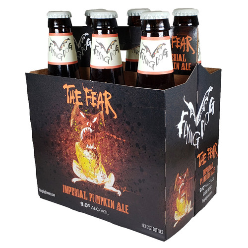 Flying Dog The Fear Imperial Pumpkin Ale 6-Pack