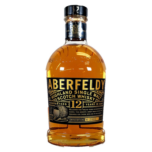 Aberfeldy 12 Year Old Single Malt Scotch Whiskey