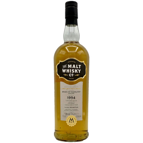 Malt Whiskey Co Braes Glenlivet Scotch Whisky