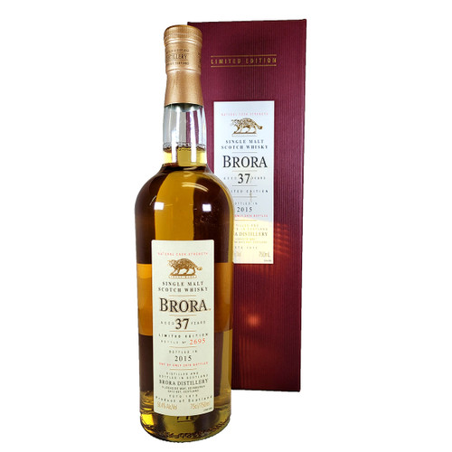 Brora Single Malt 37 Year Scotch Whisky