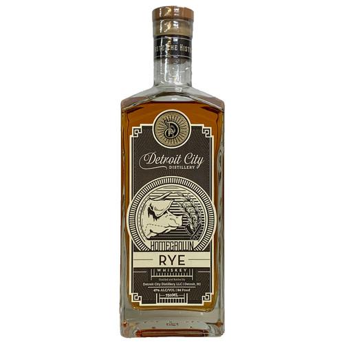 Detroit City Homegrown Rye Whiskey