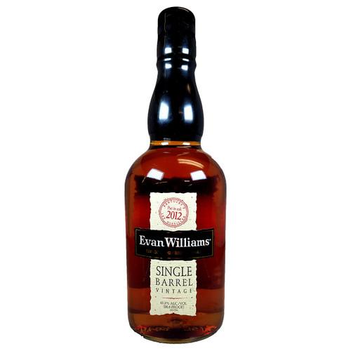 Evan Williams Single Barrel Vintage Kentucky Straight Bourbon Whiskey