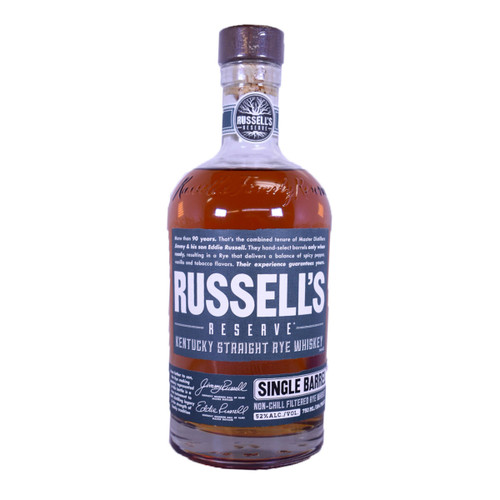 Russells Reserve Single Barrel Rye Whiskey