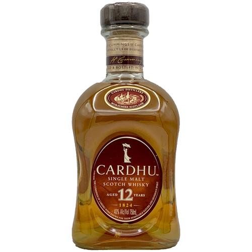 Cardhu 12 Year Old Single Malt Scotch