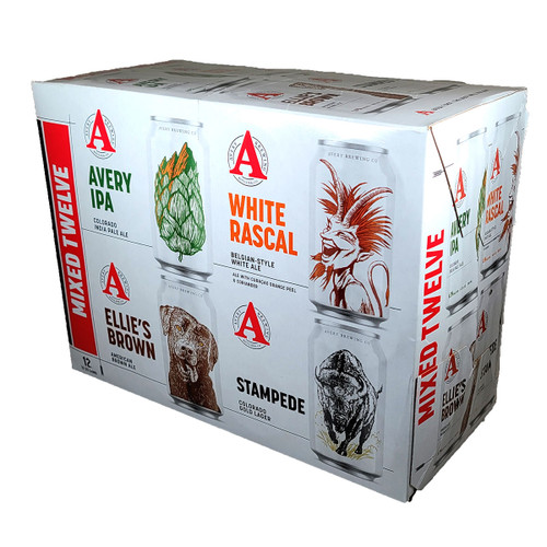 Avery Mixed Twelve 12-Pack Can