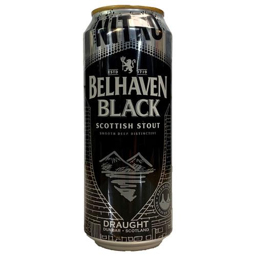 Belhaven Black Scottish Stout Nitro Draught Can