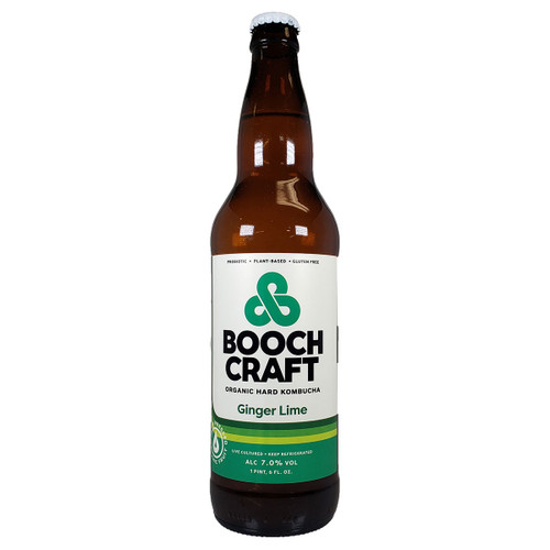 Boochcraft Ginger Lime Rosehips Kombucha