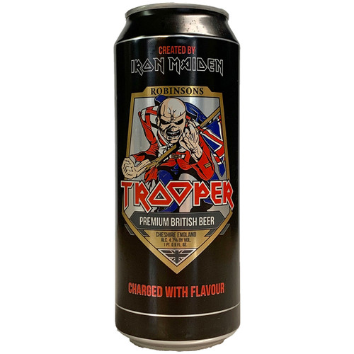 Robinsons Iron Maiden Trooper Can