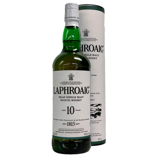 Laphroaig 10 Year Islay Scotch Whisky