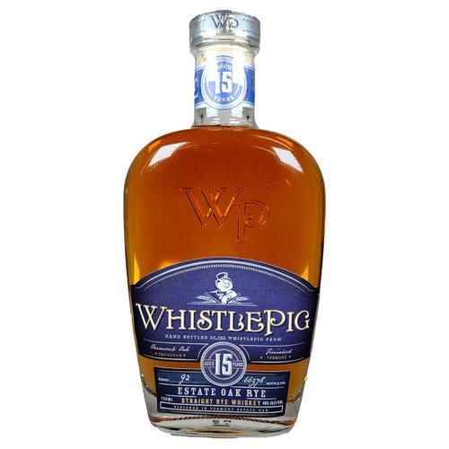 WhistlePig 15 Year Estate Oak Rye Whiskey