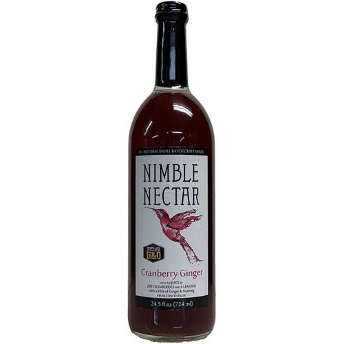 Nimble Nectar Cranberry Ginger Cocktail Mixer