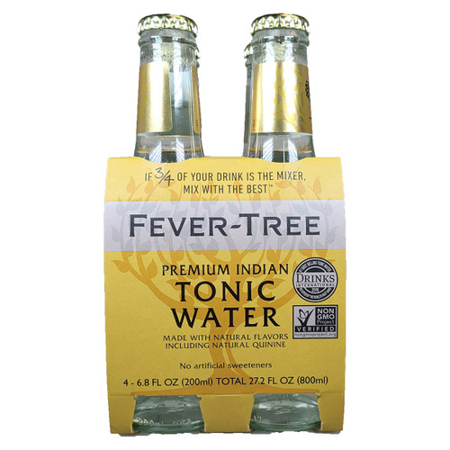 Fever Tree Premium Indian Tonic Water 4-Pack