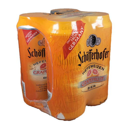 Schofferhofer Grapefruit Hefeweizen Radler 4-Pack Can