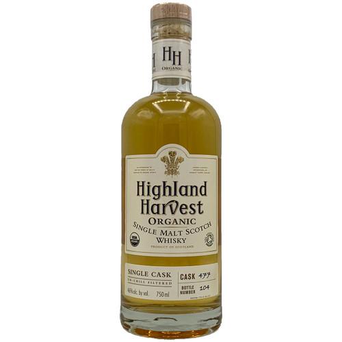 Highland Harvest Organic Single Malt Scotch Whisky