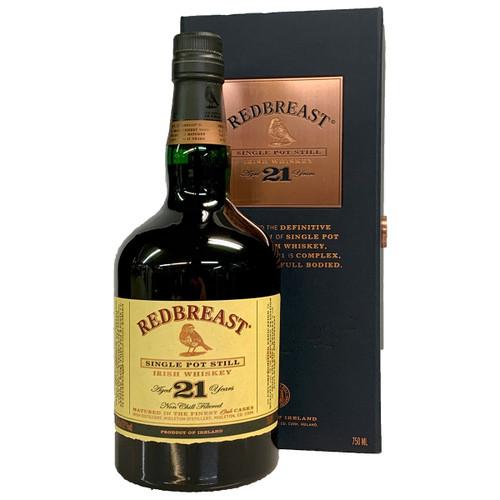 Redbreast 21 Year Single Pot Still Irish Whiskey 750ml