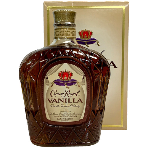 Crown Royal Vanilla Flavored Canadian Whisky