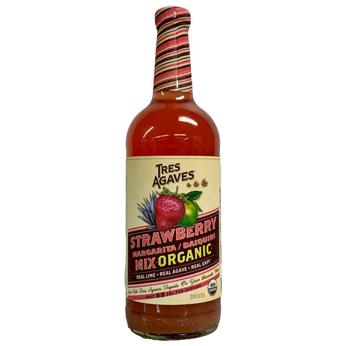 Tres Agaves Organic Strawberry Lime Margarita Mix