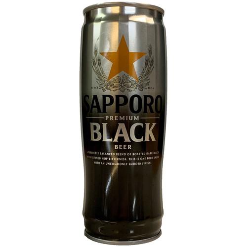 Sapporo Premium Black Beer Can