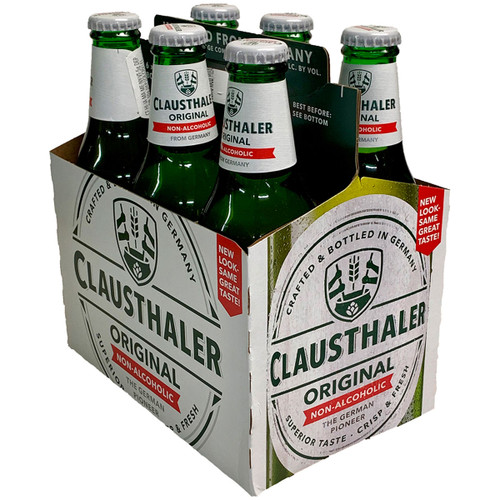 Clausthaler Original Non Alcoholic Beer 6-Pack