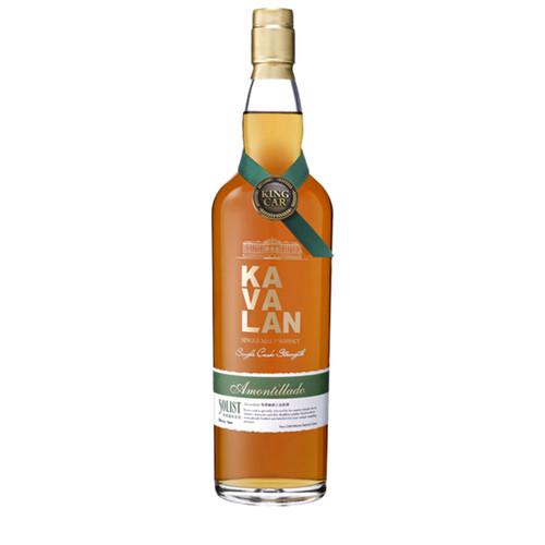 Kavalan Solist Amontillado Cask Strength Single Malt Whiskey