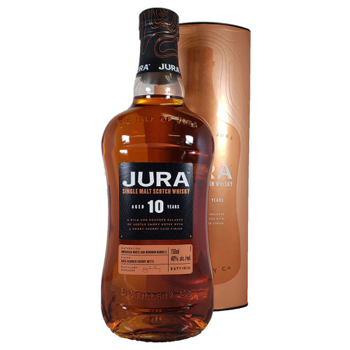 Jura 10 Year Single Malt Scotch Whisky