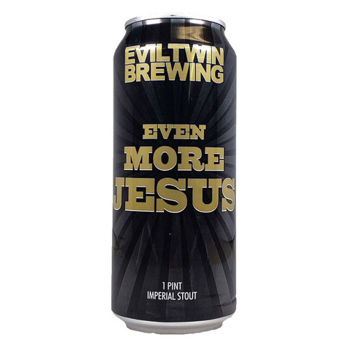 Evil Twin Even More Jesus Stout Can