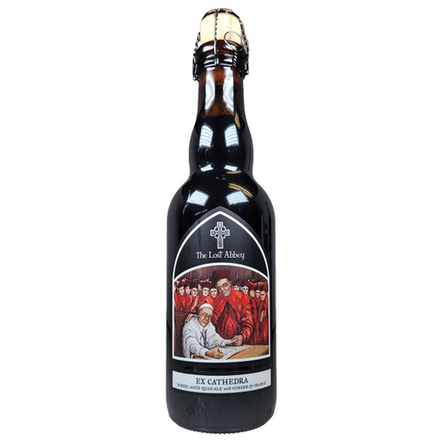 Lost Abbey Ex Cathedra Barrel Aged Quadrupel Ale