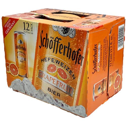 Schofferhofer Grapefruit Hefeweizen Radler 12-Pack Can