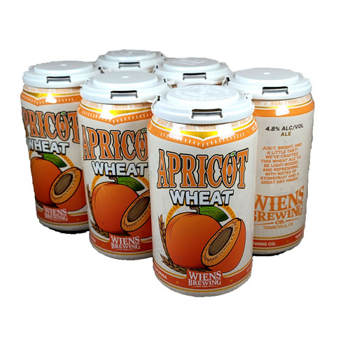 Wiens Apricot Wheat 6-Pack Can