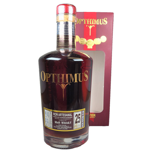 Opthimus 25 Year Old Malt Whisky Barrel Finish Rum