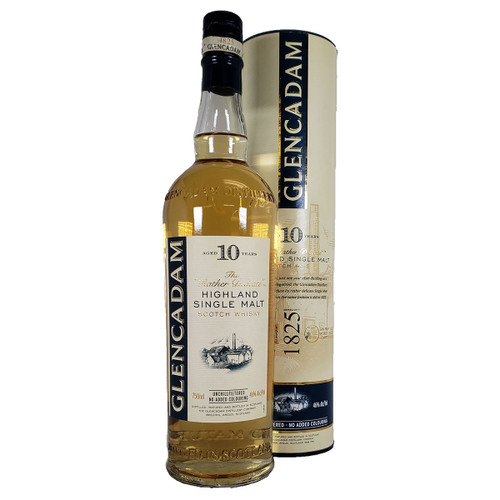 Glencadam 10 Year Highland Single Malt Scotch Whisky