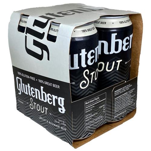 Glutenberg Gluten Free Stout 4-Pack Can