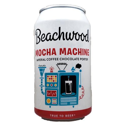 Beachwood Mocha Machine Coffee Chocolate Imperial Porter Can