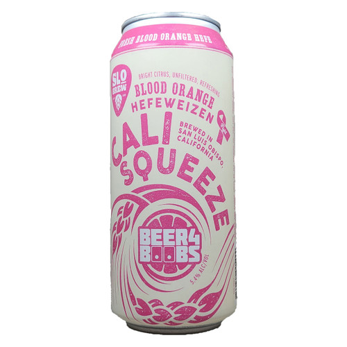 SLO Brew Cali Squeeze Blood Orange Hefe 4-Pack Can