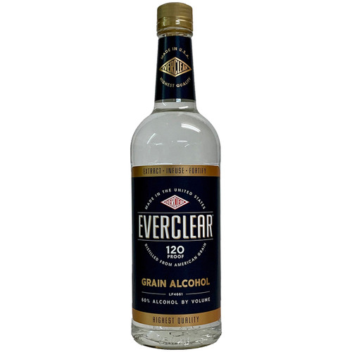 Everclear 120 Proof Grain Spirit