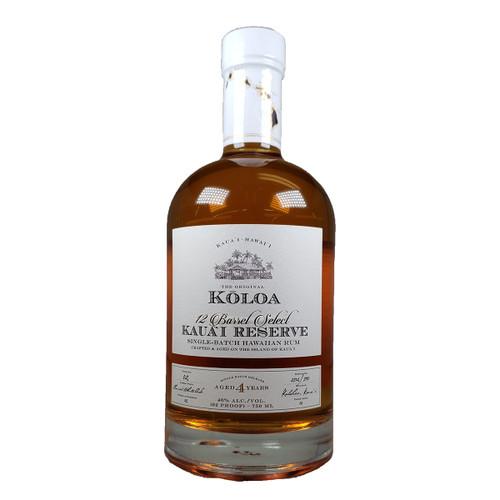 Koloa Kauai 12 Barrel Select Reserve Rum