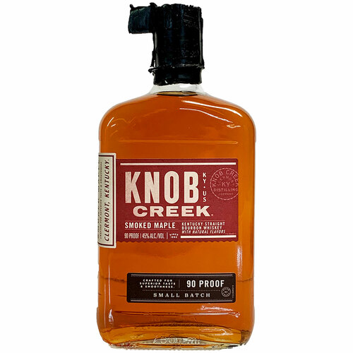 Knob Creek Smoked Maple Bourbon Whiskey