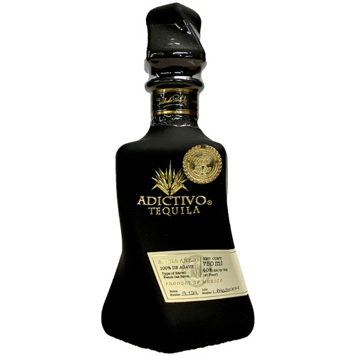 Adictivo Extra Anejo Limited Edition Black Bottle Tequila